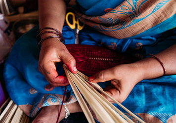 The Art and Craft of Palm Weaving