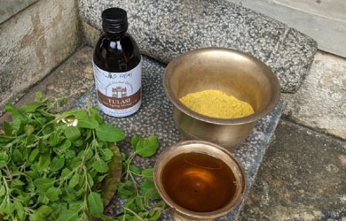 Tulasi Massage Oil