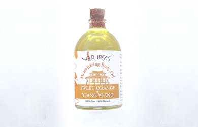 Moisturizing Body Oil –  Sweet Orange & Ylang Ylang