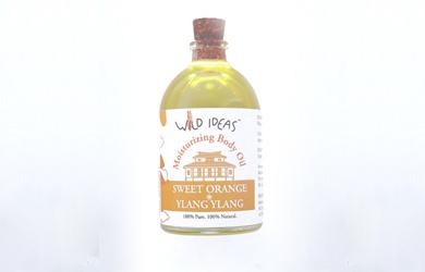 Moisturizing Body Oil – Sweet Orange & Ylang Ylang
