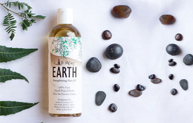 Earth – Strengthening Hair Oil