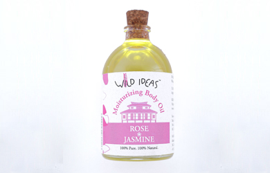 Moisturizing Body Oil – Rose & Jasmine