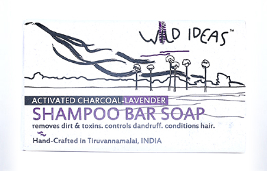 Shampoo Bar Soap: Activated Charcoal & Lavender