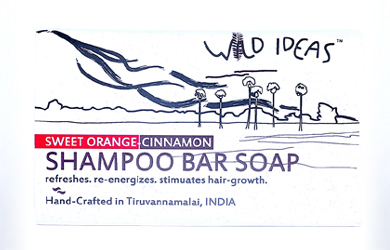 Shampoo Bar Soap: Sweet Orange & Cinnamon