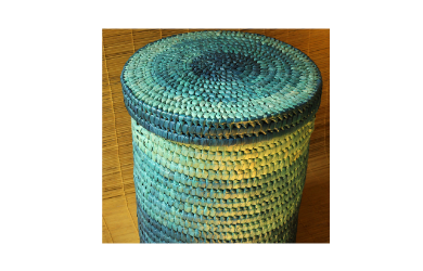 Laundry Basket – Indian Sky Hues