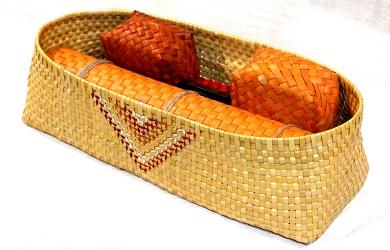 Long Flower Basket